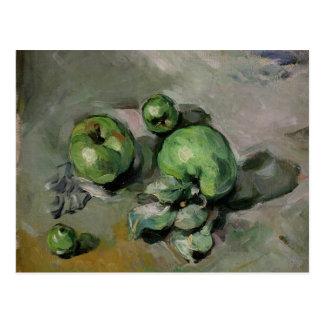 Manzanas verdes, c.1872-73 postal