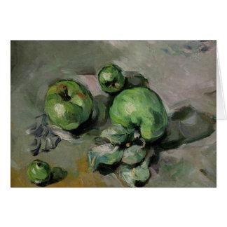 Manzanas verdes, c.1872-73 tarjeta