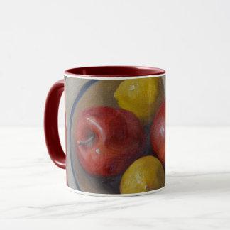 Manzanas y limones taza