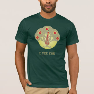 Manzano O camisa de la cara o del pavo real