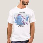 map_new, amamos, Cholas, tamils Camiseta
