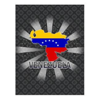 Mapa 2,0 de la bandera de Venezuela Postal