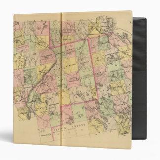 Mapa 2 de las tierras 3 de la madera carpeta 3,8 cm