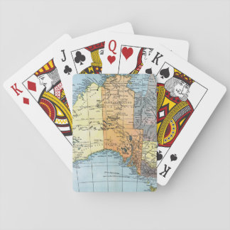MAPA: AUSTRALIA, c1890 Barajas De Cartas