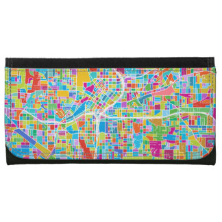 Mapa colorido de Atlanta