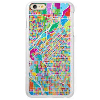 Mapa colorido de Denver