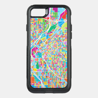 Mapa colorido de Denver Funda Commuter De OtterBox Para iPhone 8/7