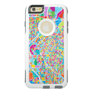 Mapa colorido de Denver Funda Otterbox Para iPhone 6/6s Plus