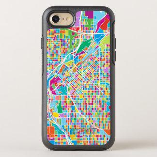 Mapa colorido de Denver Funda OtterBox Symmetry Para iPhone 7