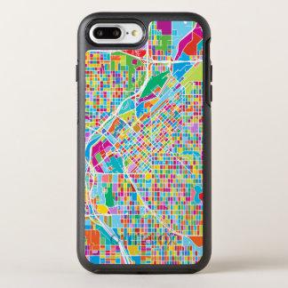 Mapa colorido de Denver Funda OtterBox Symmetry Para iPhone 7 Plus