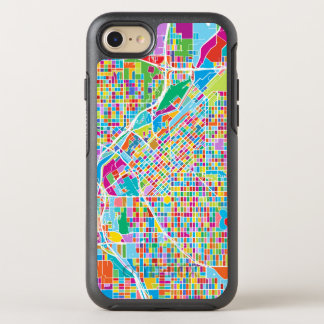 Mapa colorido de Denver Funda OtterBox Symmetry Para iPhone 8/7
