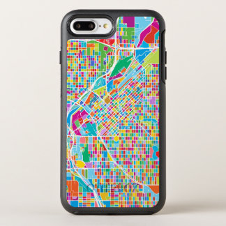 Mapa colorido de Denver Funda OtterBox Symmetry Para iPhone 8 Plus/7 Plus