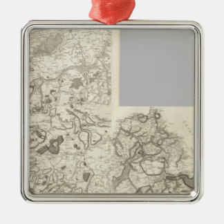Mapa compuesto de Francia 10 Ornamento Para Reyes Magos