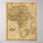 Mapa de África por Worcester Posters