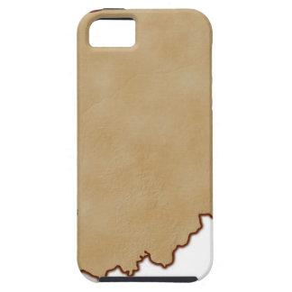 Mapa de alivio de Indiana 2 iPhone 5 Case-Mate Carcasas