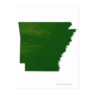 Mapa de Arkansas Postal