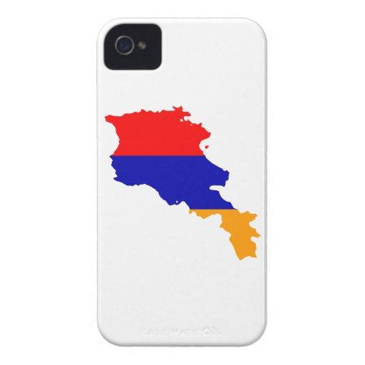 MAPA DE ARMENIA Case-Mate iPhone 4 FUNDAS