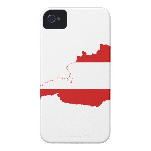 MAPA DE AUSTRIA Case-Mate iPhone 4 CÁRCASA