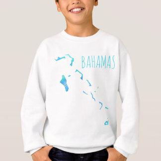 Mapa de Bahamas Sudadera