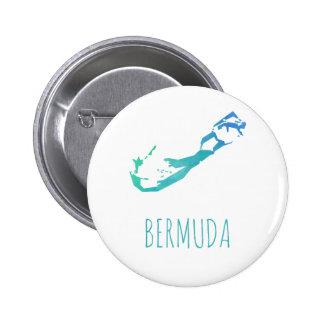 Mapa de Bermudas Chapa Redonda De 5 Cm