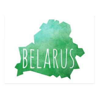 Mapa de Bielorrusia Postal