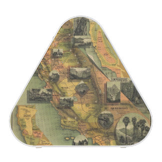 Mapa de California Altavoz Bluetooth