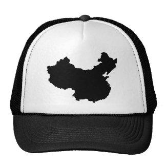 Mapa de China Gorra