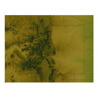 Mapa de Colorado Postal
