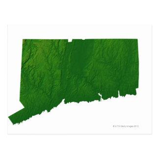 Mapa de Connecticut 2 Postal