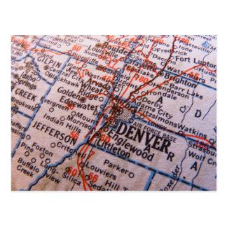 Mapa de Denver Postal
