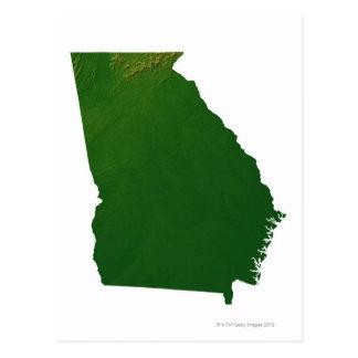 Mapa de Georgia Postal
