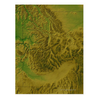 Mapa de Idaho Postal