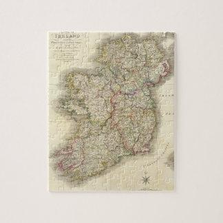 Mapa de Irlanda Puzzle
