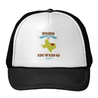 Mapa de Irving, Tejas - casero es donde está el co Gorro