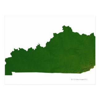 Mapa de Kentucky Postal