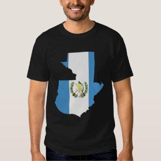 Mapa de la bandera de Guatemala Camisas