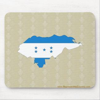 Mapa de la bandera de Honduras del mismo tamaño Alfombrilla De Ratón