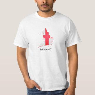Mapa de la bandera de Inglaterra Camisas