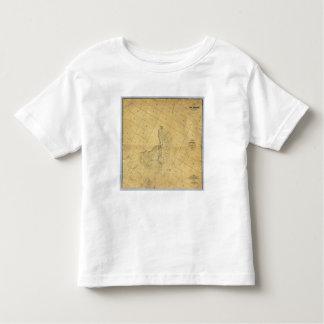 Mapa de la ciudad de Los Ángeles Camisetas