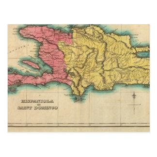 Mapa de La Española, o St Domingo Postal