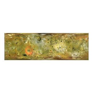 Mapa de la luna Lo de Júpiter Impresiones Fotograficas