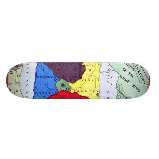 mapa de la onza patineta personalizada