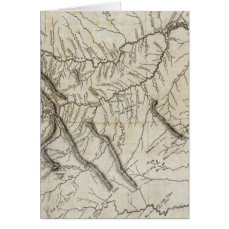 Mapa de la pista 2 de Lewis y de Clark Tarjeta