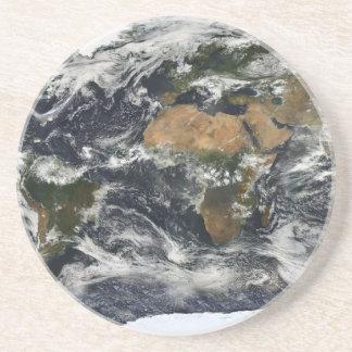 Mapa de la tierra apoyavasos