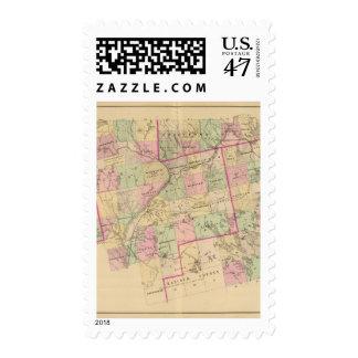Mapa de las tierras 3 de la madera sellos