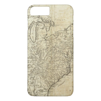 Mapa de los Estados Unidos de América Funda iPhone 7 Plus