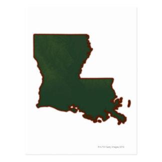 Mapa de Luisiana Postal