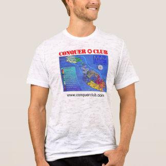 Mapa de Malta Camiseta