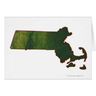 Mapa de Massachusetts 3 Felicitacion