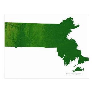Mapa de Massachusetts Postal